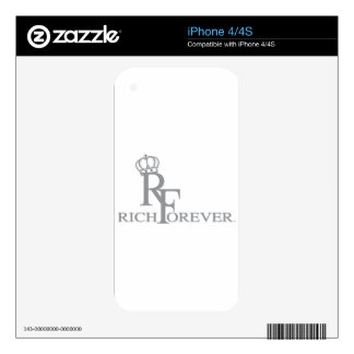 Rich forever_11.ai decals for iPhone 4