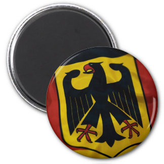 Rich Germany Flag 2 Inch Round Magnet