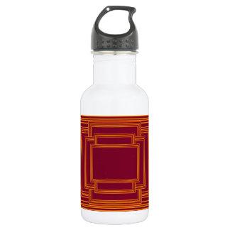 RICH Golden Streak Borders Stainless Steel Water Bottle