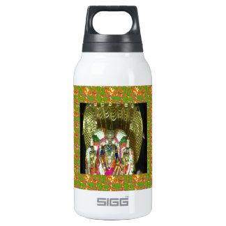 RICH HERITAGE Tirupati Temple: Lord Vishnu 10 Oz Insulated SIGG Thermos Water Bottle