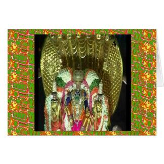 RICH HERITAGE Tirupati Temple: Lord Vishnu Greeting Card
