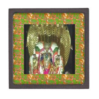 RICH HERITAGE Tirupati Temple: Lord Vishnu Jewelry Box