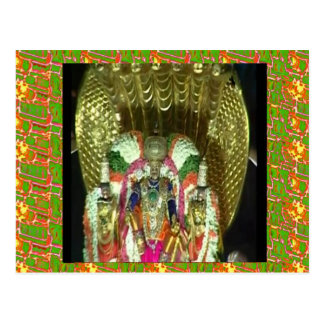 RICH HERITAGE Tirupati Temple: Lord Vishnu Postcard