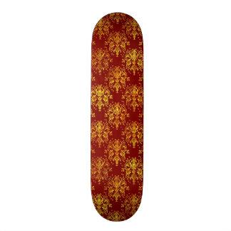 Rich Holiday Damask Skateboard Deck