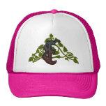 rich ivy monogram E Trucker Hats