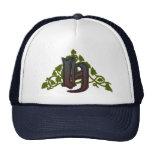 rich ivy monogram H Trucker Hat