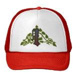 rich ivy monogram I Hat