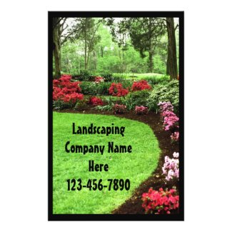 Rich Landscape Lawn Care Business Custom Flyer