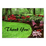 Rich Landscape Lawn Care Business Greeting Card