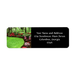Rich Landscape Lawn Care Business Label