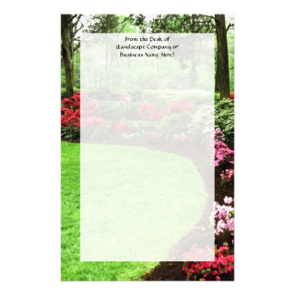 Rich Landscape Lawn Care Business Custom Stationery