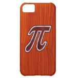 Rich Mahogany Pi iPhone 5C Cases