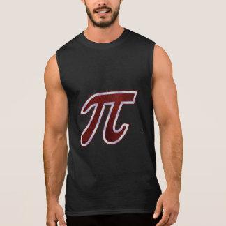Rich Mahogany Pi Sleeveless Shirts