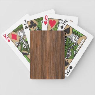 Rich Multigrain Cottage Wood Card Deck