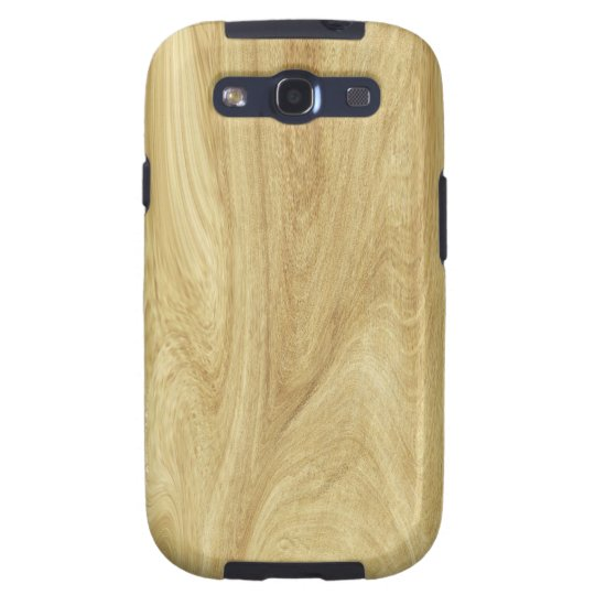 Rich Oak Wood Look Samsung Galaxy S3 Case