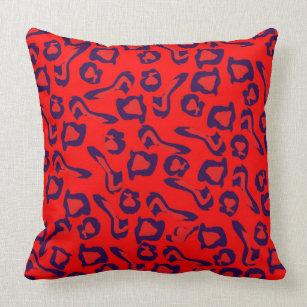 Purple Leopard Pillows Decorative Amp Throw Pillows Zazzle