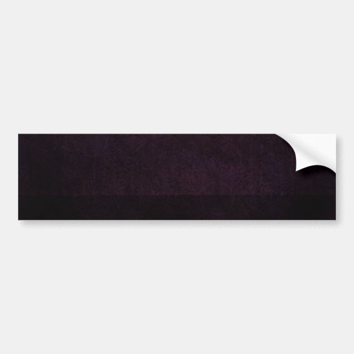Rich Orchid Bumper Stickers