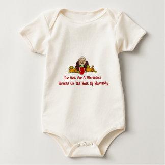 Rich Parasites Baby Bodysuit