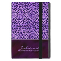 Rich Purple Cheetah Animal Print iPad Mini Covers