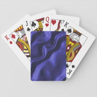 Rich Purple Satin Silk look fabric Playing Cards