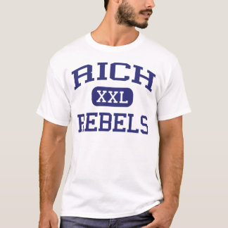Rich - Rebels - Rich High School - Randolph Utah T-Shirt