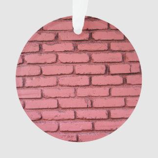 Rich Red Brick Wall