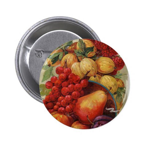 Rich Red Fruit Pin
