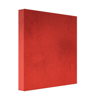 RICH RED GRADIENT BACKGROUND LOVE TEXTURED TEMPLAT CANVAS PRINT