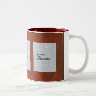 Rich Red Photo Mug Template