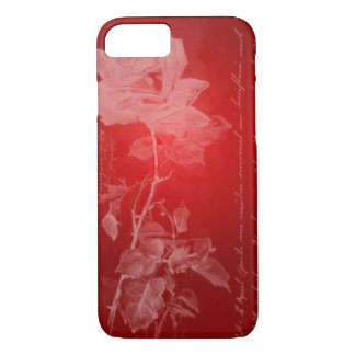 Rich Red Rose iPhone 7 Case