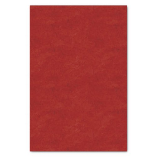 Rich Red Textured Tissue Paper