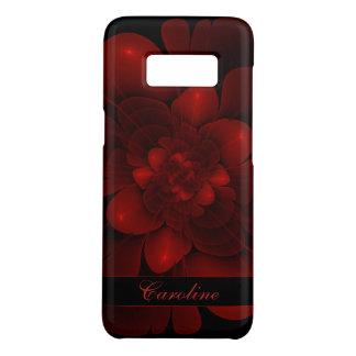 Rich Red Velvet Bloom Case-Mate Samsung Galaxy S8 Case