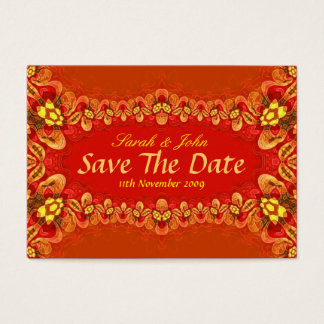 Rich Reds Xtra Wedding and Invitations Card