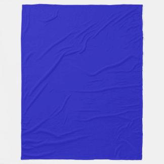 RICH ROYAL BLUE (solid color) ~ Fleece Blanket