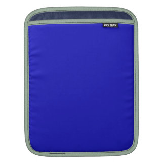 RICH ROYAL BLUE (solid color) ~ Sleeve For iPads
