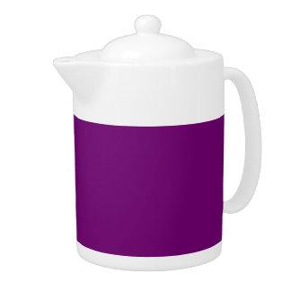 RICH ROYAL PURPLE (solid color) ~ Teapot