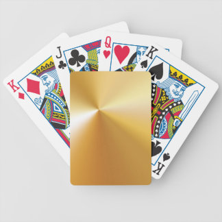 RICH SATIN SILK METALLIC GOLD  BACKGROUNDS DIGITAL BICYCLE PLAYING CARDS