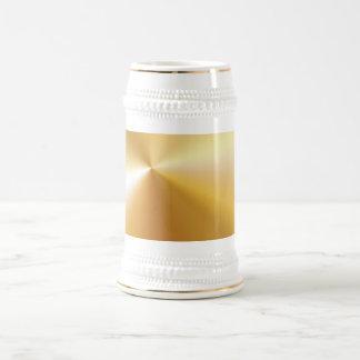 RICH SATIN SILK METALLIC GOLD  BACKGROUNDS DIGITAL COFFEE MUG