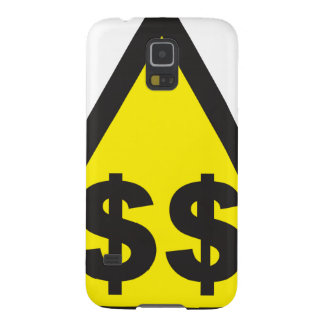 Rich Sign Warning Dollars USD Galaxy S5 Cover