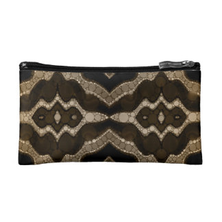 Rich Sofia Abstract Pattern Makeup Bag
