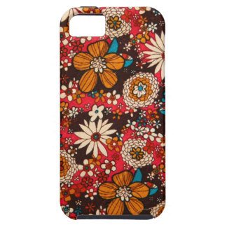 Rich sumptuous vintage floral textile pattern iPhone SE/5/5s case