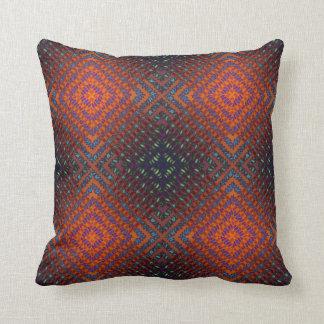 Rich Tones Blanket Weave Reversible Pillow