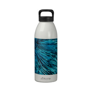 Rich Turquoise Reusable Water Bottle