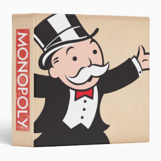 Rich Uncle Pennybags 1 3 Ring Binder