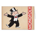 Rich Uncle Pennybags 1 Greeting Card