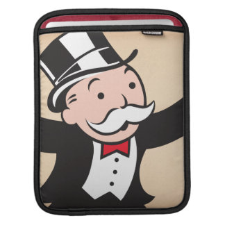 Rich Uncle Pennybags 1 Sleeves For iPads