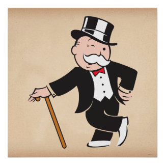 Rich Uncle Pennybags 3 Poster
