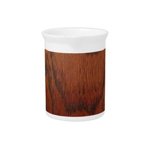 Rich Wood Design Pitcher