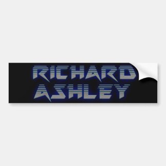 Richard Ashley Bumper Sticker