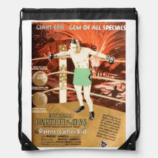 Richard Barthelmess 1927 silent movie exhibitor ad Cinch Bag